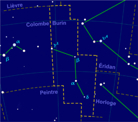 image illustrative de l'article Burin (constellation)