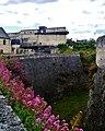 Caen Château de Caen Nordwestmauer 1.jpg