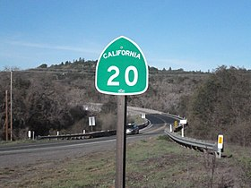 Image illustrative de l'article California State Route 20