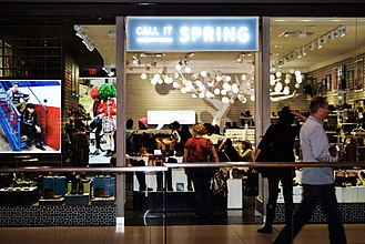 Call It Spring - Call it Spring location in Toronto's Eaton Centre