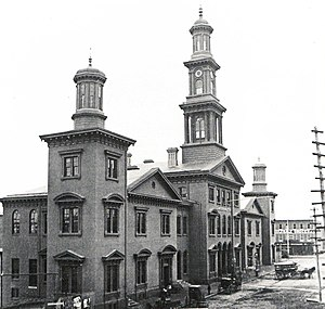 Baltimore railroad strike of 1877 - Camden Station in 1868