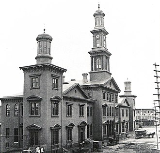 Baltimore Terminal Subdivision - Camden Station in 1865
