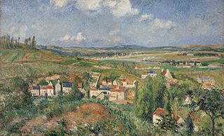 L'Hermitage in Summer, Pontoise