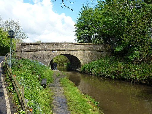 Canal bridge no 27, Peak Forest Canal