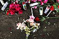 Candles and Roses at Pray 4 Rose Shrine (16776846622).jpg