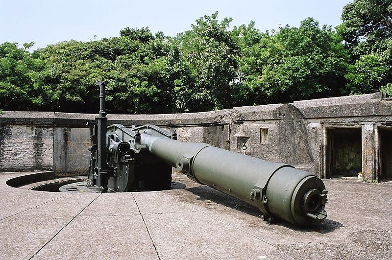 Candon Philippines  city pictures gallery : Cannon Corregidor Philippines Wikimedia Commons