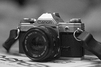 Canon AT-1 - Image: Canon AT 1 B&W