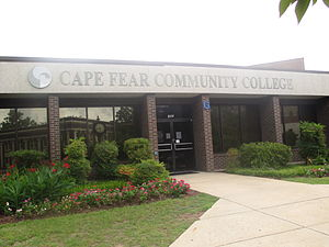 Cape Fear Community College - Cape Fear Community College in downtown Wilmington, North Carolina