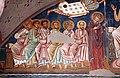 Cappella di san silvestro, affreschi del 1246, 02 cristo in trono tra maria, san giovanni, gli apostoli e angeli 2.jpg
