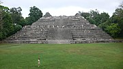 Caana, a Mayan pyramid at Caracol, Cayo District.