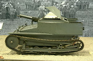 Tanks in the Italian Army - A Carden-Loyd tankette Mark VI
