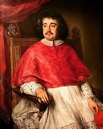 Flavio Chigi (1631–1693) - Cardinal Flavio Chigi, by Jacob Ferdinand Voet