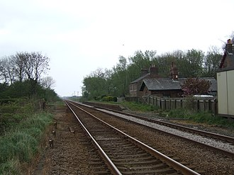 Carnaby railway station - Carnaby railway station in 2007
