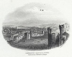 Carnarvon Castle & Town