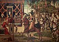 Carpaccio - L'Ambassade qu'Hippolyte, la reine des Amazones envoie à Thésée, roi d'Athènes, Vers 1495.jpg