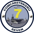 Carrier Strike Group 7 insignia (US Navy) 2011.png