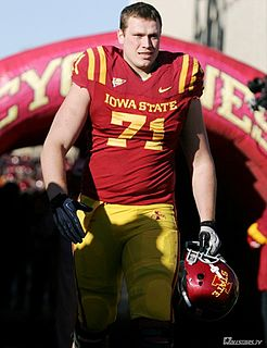 Carter Bykowski American football offensive tackle