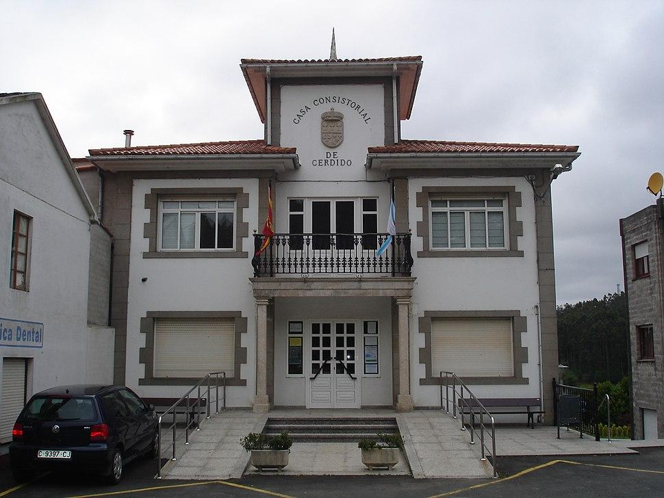 Casa do Concello de Cerdido