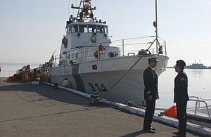 State Border Service (Azerbaijan) - An ex-U.S. 82-foot patrol boat of the Border Guard's Maritime Brigade