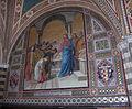 Castello di brolio, san jacopo, int., mosaici di augusto castellani, 1878, 03.JPG