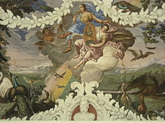 Castle Štatenberg (fresco of Air).JPG