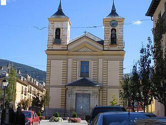 Real Sitio de San Ildefonso - Iglesia de los Dolores