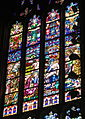 Cathedral of the Most Blessed Sacrament (Detroit, Michigan) - stained glass, Pietà.JPG