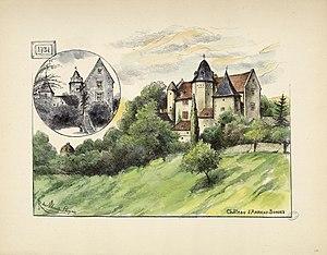 Arricau-Bordes - Chateau of Arricau in 1926