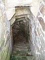 Château de Montafilan, Corseul (Côtes d'Armor), tour nord, escalier DSC07014.jpg