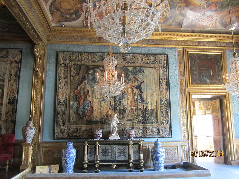 Château de Vaux-le-Vicomte - Chambre des Muses 2.JPG