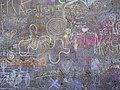 Chalk graffiti wall - 2019 Llano Earth Art Festival - Flickr - joncutrer.jpg