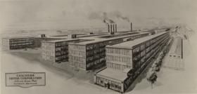 Chalmers Motor Company Jefferson Avenue factory, Detroit, 1913