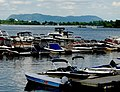 Chambly Marina with Mont St. Hilaire on the horizon - panoramio.jpg