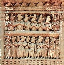 Chankrama Sanchi Stupa 1 Eastern Gateway Left pillar Front top panel