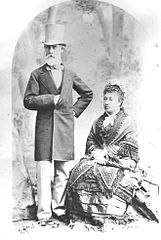 Charles Reed Bishop and Bernice Pauahi Bishop in San Francisco, Kamehameha Schools Archives.jpg
