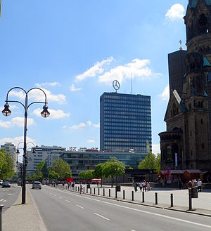Europa-Center - Breitscheidplatz with Europa-Center