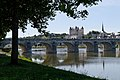 Chateau, Pont Cessar and the Loire river - Saumur, France - panoramio.jpg
