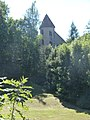 Chateau d'Einhartshausen, vue du fossé Taillant.JPG