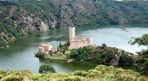 Loire (department) - Image: Chateau de Grangent