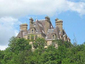 De Wendel family - Château de Wendel, Jœuf