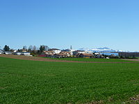 Cheseaux-Sur-Lausanne with Alps in background.JPG