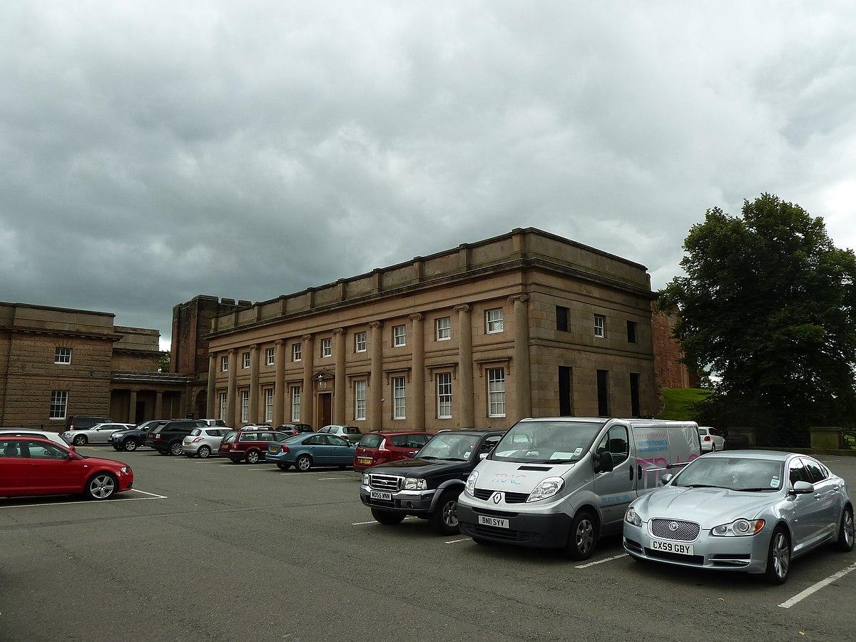 Chester Castle - outer bailey - B Block.JPG