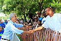 Chicago Mayor Rahm Emanuel at the Bud Billiken Parade 2015 (19806004294).jpg