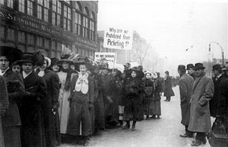 1910 Chicago garment workers' strike - Image: Chicago garment workers' strike