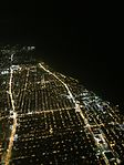Chicago nighttime aerial in 2016 IMG 4335.jpg