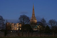 Chichester Cathedral at night.jpg