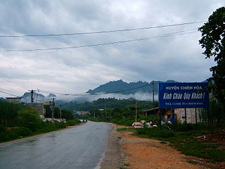 Chiêm Hóa District District in Northeast, Vietnam