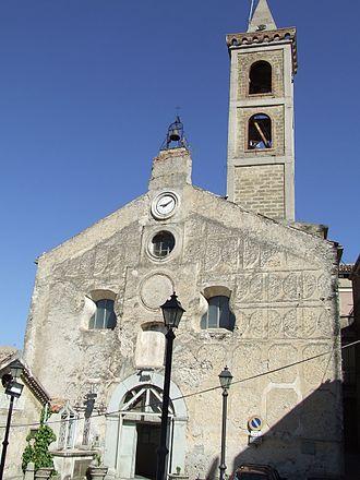 Caggiano - Image: Chiesa del SS Salvatore di Caggiano