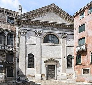 San Beneto - Image: Chiesa di San Beneto Venezia