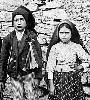 Francisco and Jacinta Marto - Photograph of Francisco and Jacinta